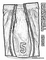 Basketball Coloring Jersey Pages Shorts Drawing Nba Yescoloring Easy Print Lebron James Shoes Boys Jordan Stop Jokin Tell Nike Bouncy sketch template