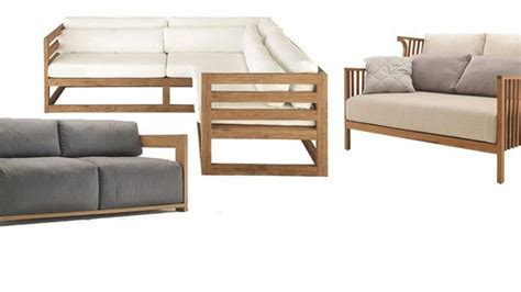 canapé pour terrasse meuble jardin 5 canapés en bois pour l 39 extérieur côté