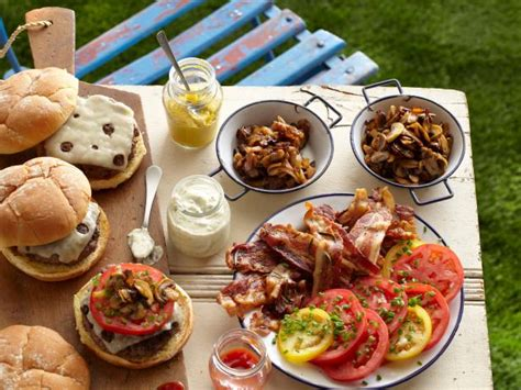 ideas for grilling out easy summer cookout menu cooking channel summer party recipes and food ideas cooking