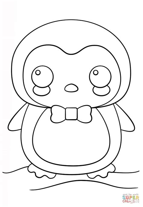 Kawaii Kleurplaat by Kawaii Coloring Pages To And Print For Free