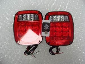 2004 Jeep Tj Wrangler All Led Tail Light Kit Includes