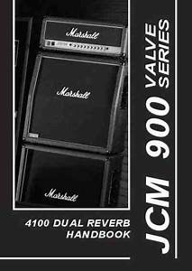 Marshall 4100  Jcm 900  Amplifier Download Manual For Free