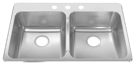 kitchen sink 38 x 22 single stainless steel topmount 33 38 in x 22 in 8425