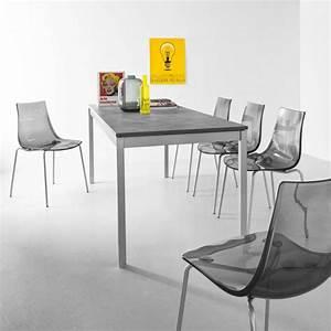 Chaise Design Metal : chaise design en m tal et plexi led 4 ~ Teatrodelosmanantiales.com Idées de Décoration