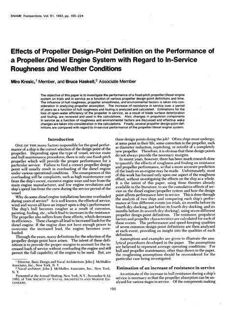 Effects of Propeller Design-Point Definition on the