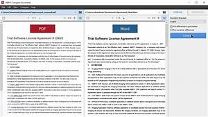 document comparison compare two pdfs word with pdf abbyy With documents vs files