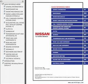 Nissan Cabstar Model Tl0 Series Electronic Service Manual