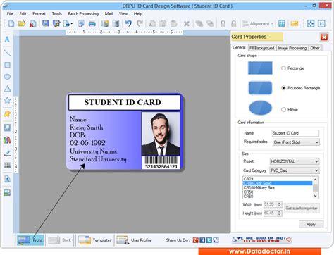 id maker program business employee student identification