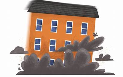 Collapse Building Clipart Insurance Claims Subsidence Houses