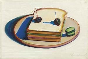 Wayne Thiebaud (b. 1920) , Sandwich | Christie's