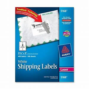 avery easy peel address label ld products With avery labels 5168