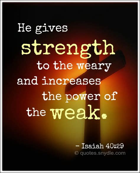12 bible verses to help you find strength. Bible Quotes about Strength with Image - Quotes and Sayings