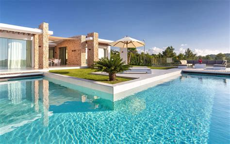 Moderne Häuser Spanien by Wallpapers Luxury Villa Exterior Swimming Pool