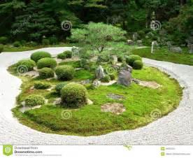 Zen Rock Garden by Ein Japanischer Steingarten Stockbild Bild 16615451
