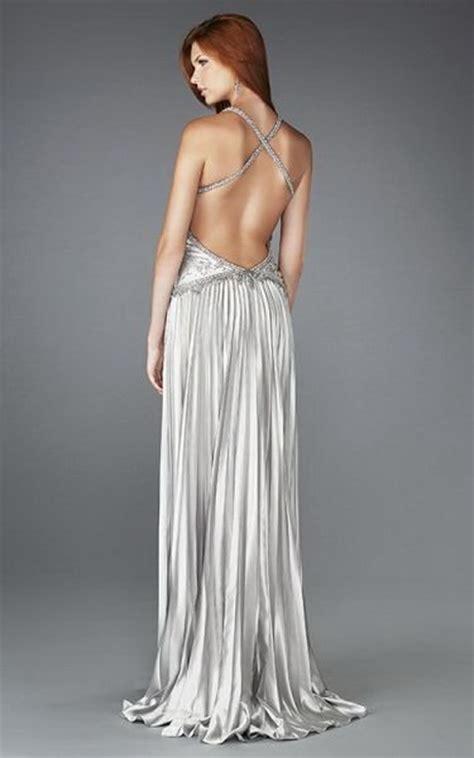 vestidos largos escotados