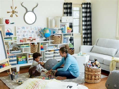 create  kid friendly living room mom