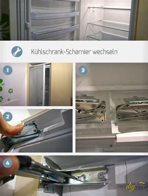 Terrassentür Scharnier Wechseln by K 252 Hlschrank Scharnier Wechseln Anleitung Diybook De