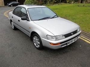 Used Toyota Corolla 2001 Petrol 1 6 Kudos + Saloon Silver