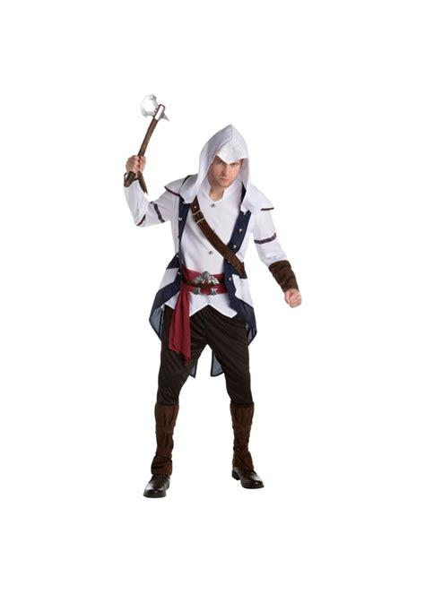 assassins creed connor classic men costume video game