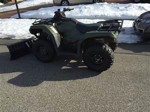 2014 Rancher 4x4 Manual With Plow  5000