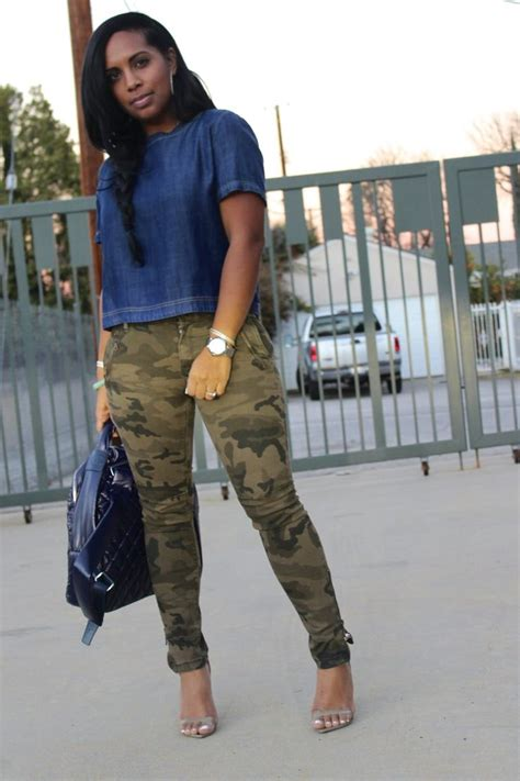 Army pants for women - Pant Olo