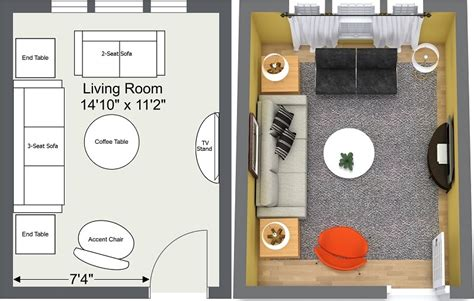 Rectangular Living Room Layout by 8 Expert Tips For Small Living Room Layouts Roomsketcher