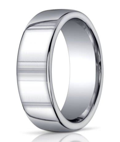 benchmark argentium silver wedding ring plain domed