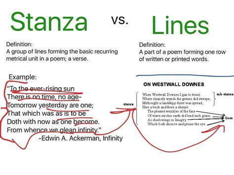 stin up stanze oxymoron pun stanza vs lines showme