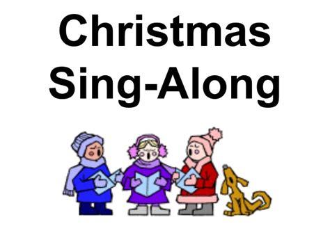 christmas sing along 1