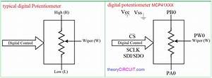 Digital Potentiometer Arduino Interface