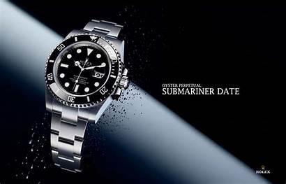 Rolex Watches Wallpapers Submariner Million Desktop Clock