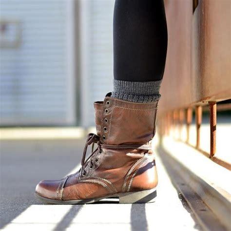 combat boots women steve madden troopa boots