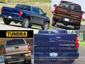Toyota tundra rear tailgate chrome letters inserts tundra for 2014 tundra tailgate letters
