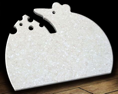 Corian Cutting Boards by Corian Cutting Board 9 Quot X 11 Quot Mouse Kitchen Decor