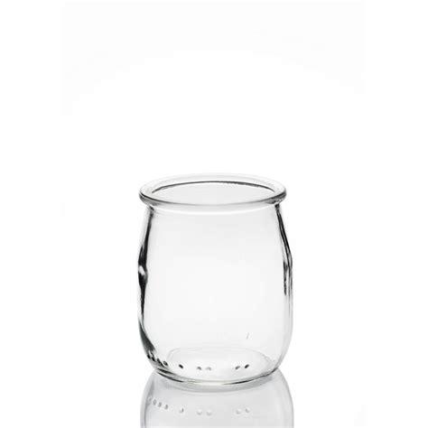 24 yoghurt jars 143 ml 125 gr with plastic cap included