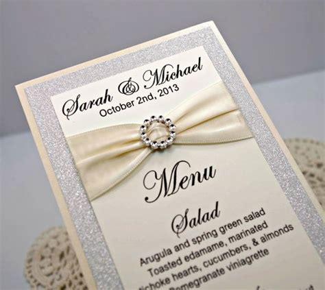 wedding menu wedding ideas pinterest wedding menu