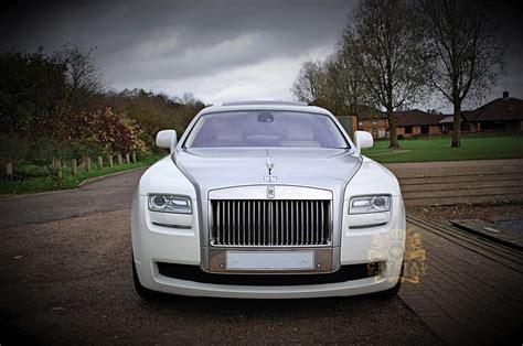 rolls royce white wraith rolls royce ghost wedding car hire