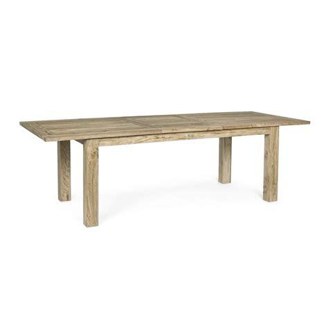 tavolo da giardino in legno tavolo in legno allungabile da esterno montevideo brigros