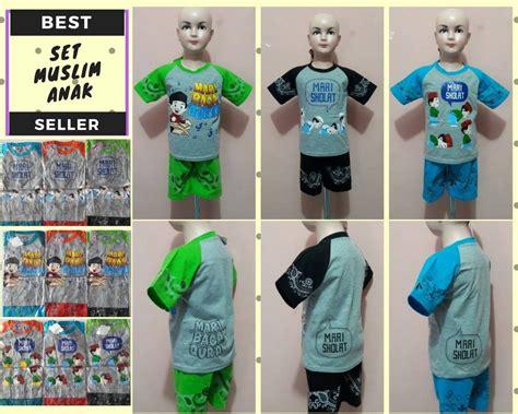 baju anak setelan 29 grosir setelan havillah muslim anak laki laki murah