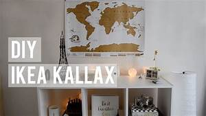 Ikea Kallax Diy : diy ikea kallax how i decorate youtube ~ Orissabook.com Haus und Dekorationen