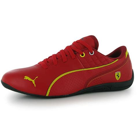 From ferrari trainers and ferrari shoes to tshirts and jackets, our collections have everything you need to dominate the track and the streets. Puma Mens Drift Cat 6 Scuderia Ferrari Trainers Lace Up ...