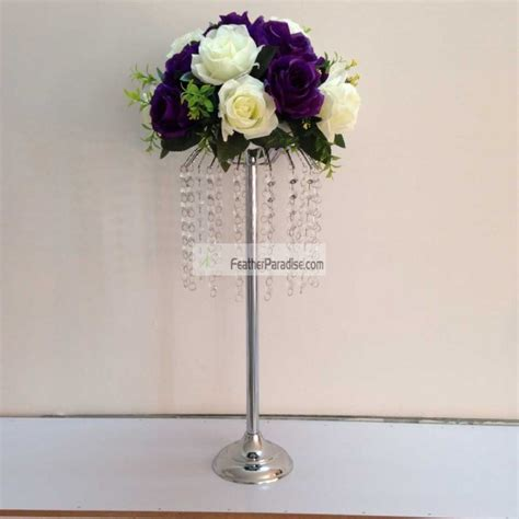 wedding feather ball centerpieces wholesale flower stands