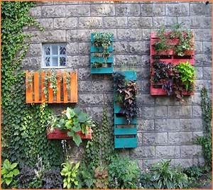 Garden wall decoration ideas thejots