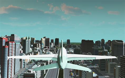 fly   creations  cities skylines