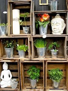 Balkon Ideen Pflanzen : regal pflanzen balkon ~ Orissabook.com Haus und Dekorationen