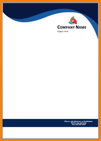 letterhead template   printable letterhead