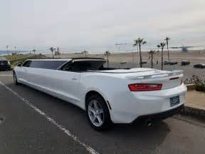 convertible chevy camaro 140 inch limousine