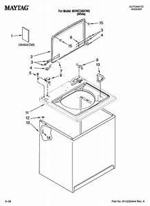 Maytag Model Mvwc300vw0 Residential Washers Genuine Parts