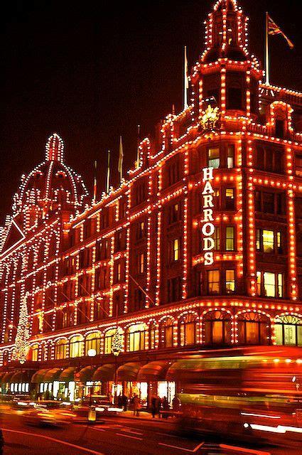 christmas lights at harrods diy pinterest
