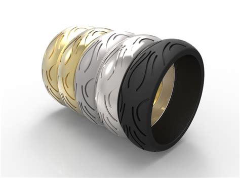 Motorcycle Low Profile Tire Tread Ring Size 10 (8vpdvz4a2